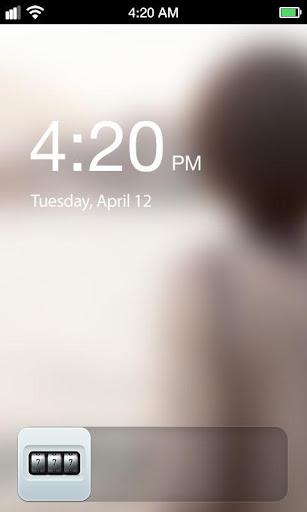 Code Lock Lock Screen screenshot