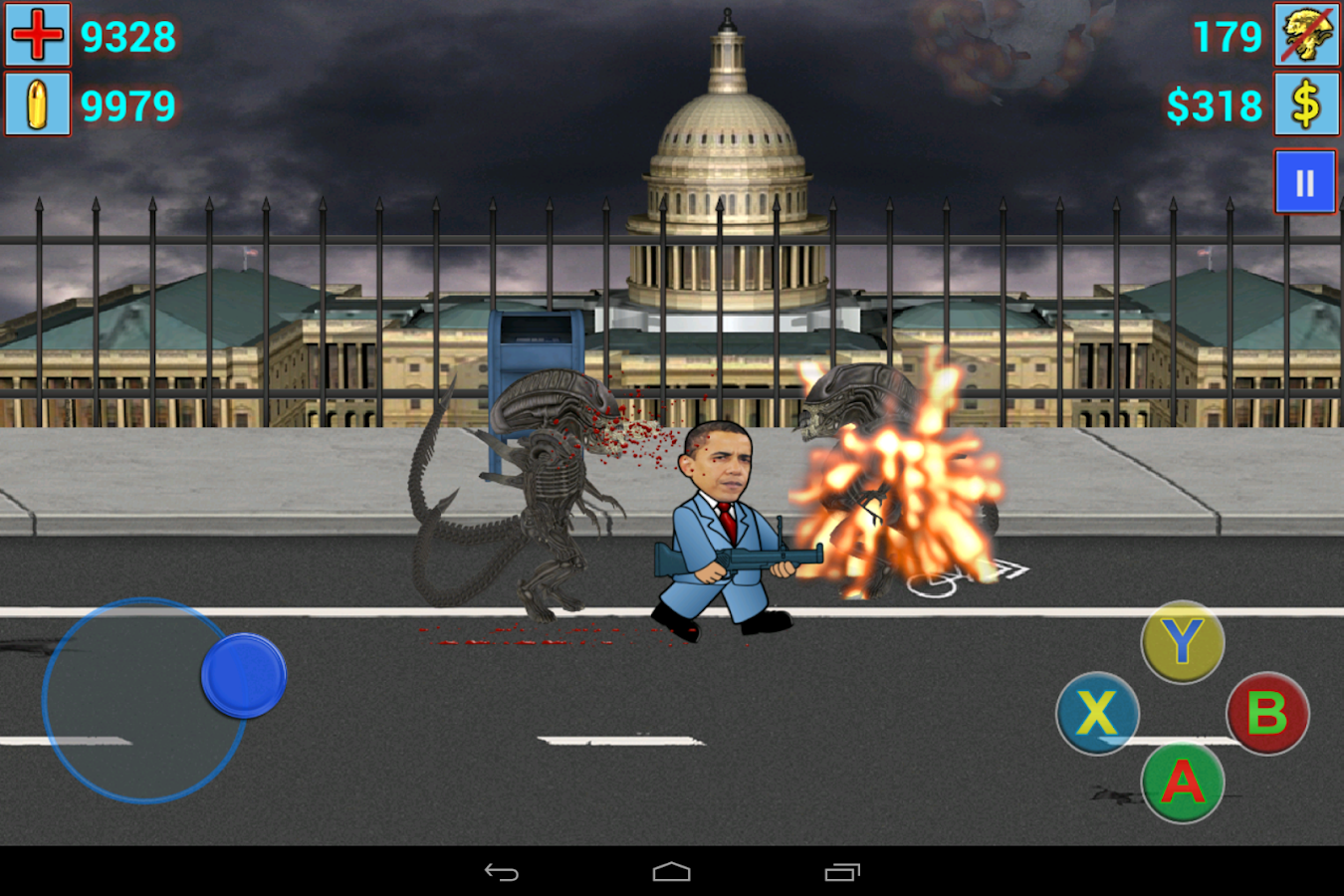 Aliens vs. President II - screenshot