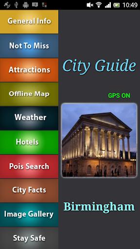 Birmingham Offline Guide