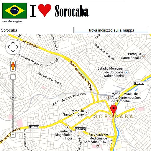 Sorocaba maps