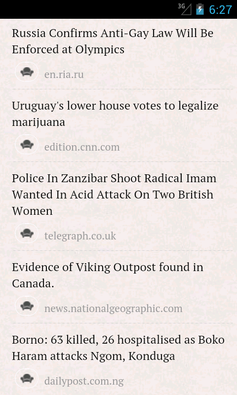 World News - screenshot