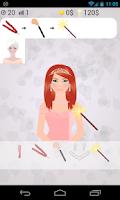 Screenshot of princess dress up games