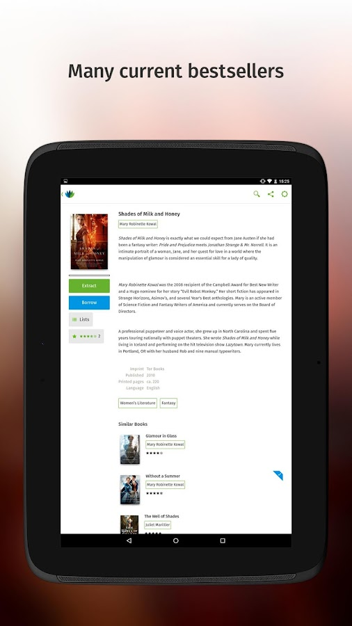 Skoobe - The eBook Flatrate - screenshot