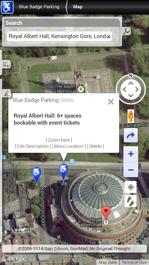 Blue Badge Parking [old]- screenshot