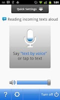 Screenshot of Sonalight Text by Voice