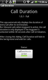 Call Duration Full