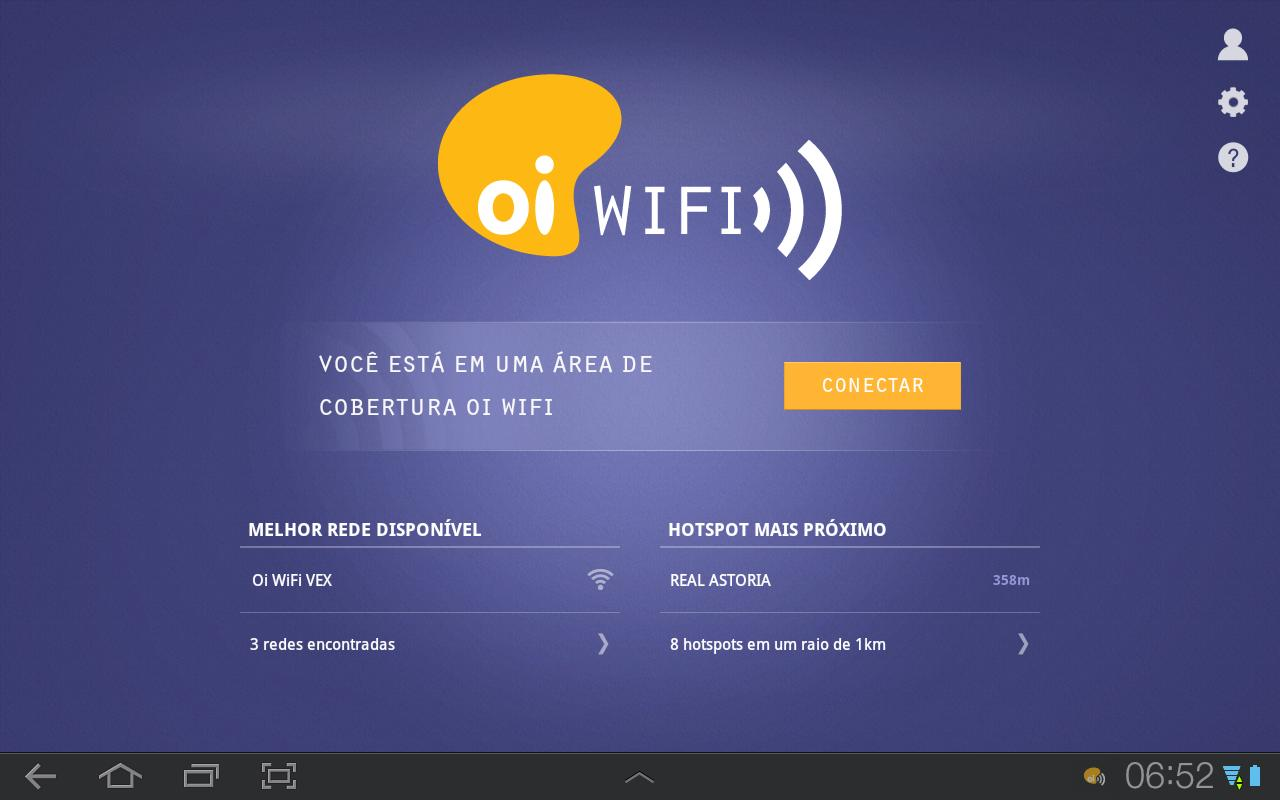 Oi WiFi - screenshot