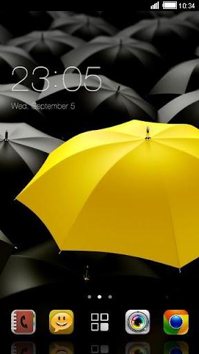 Yellow Umbrella Theme