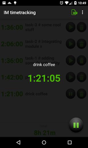 IM timetracking