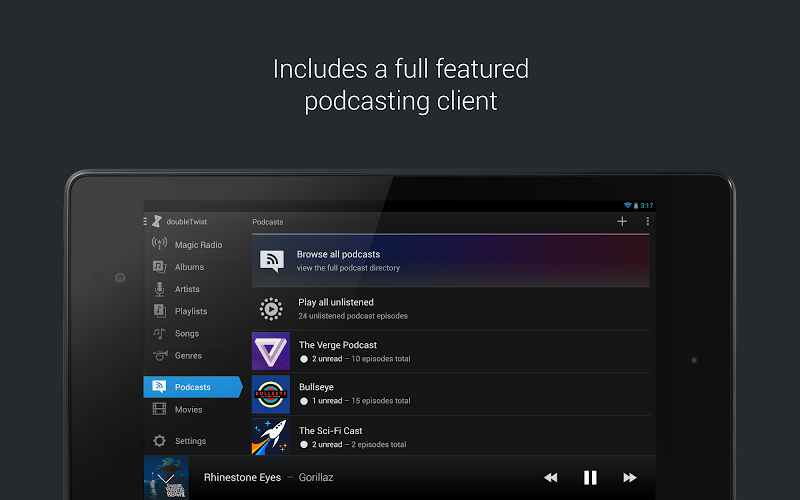 doubleTwist Music & Podcast Player with Sync Screenshot 11