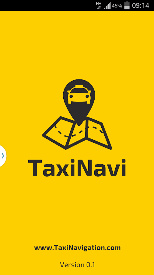 TaxiNavi- screenshot