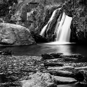 Kilgore Falls by Troy Snider - Landscapes Waterscapes ( water, old, stream, massive, nature, imposing, falls, natural, rocks )