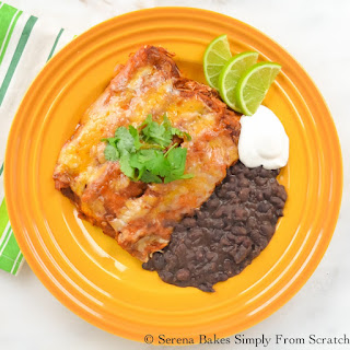 Chicken Enchiladas With Rice And Beans Recipes.