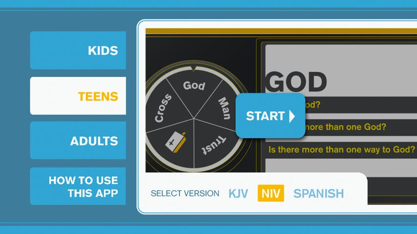 Gospel Message - screenshot