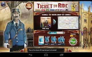 Screenshot of Ticket to Ride