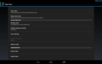 DriverDiary - Gas Mileage Screenshot 12