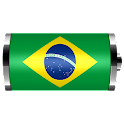 Brazil: Flag Battery Widget logo