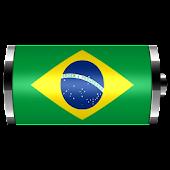 Brazil: Flag Battery Widget