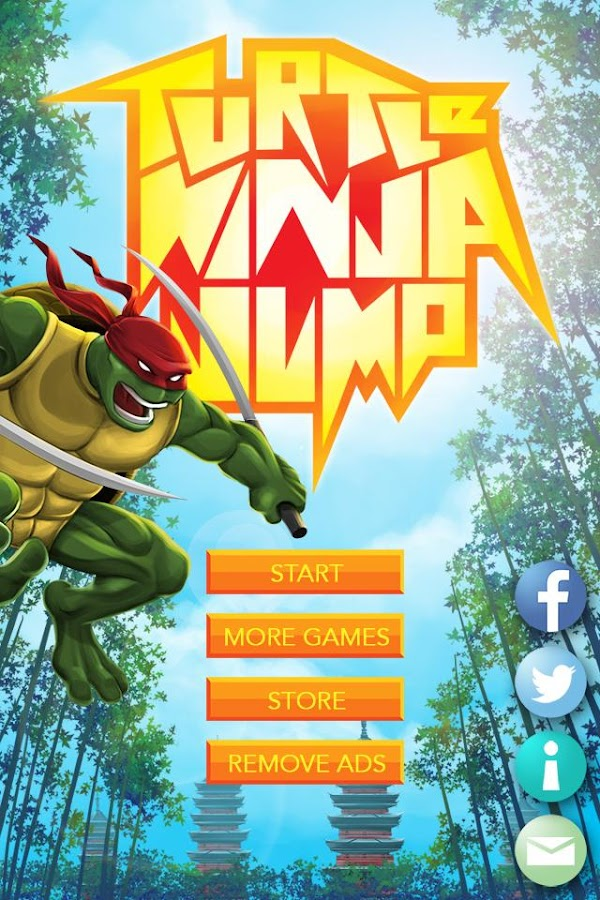 Turtle Ninja Jump- screenshot
