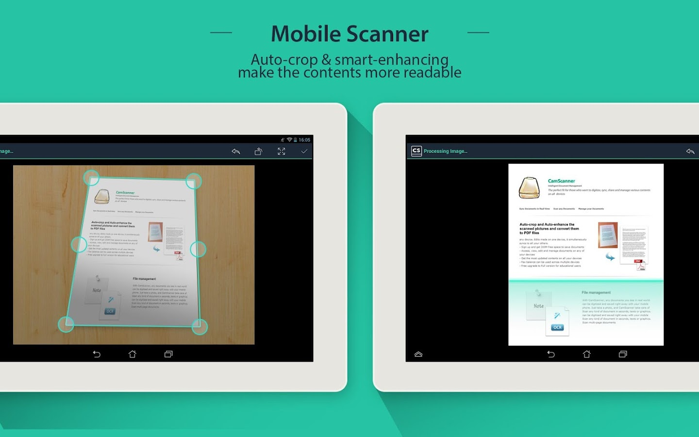 CamScanner HD - Scanner, Fax- screenshot