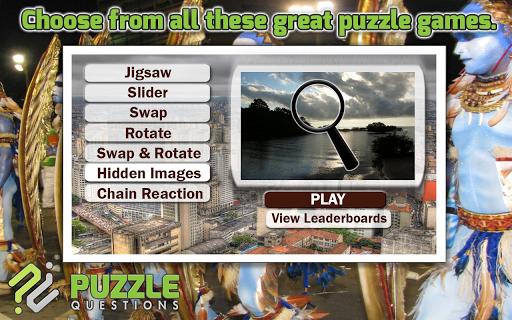 Brazil Puzzle Games
