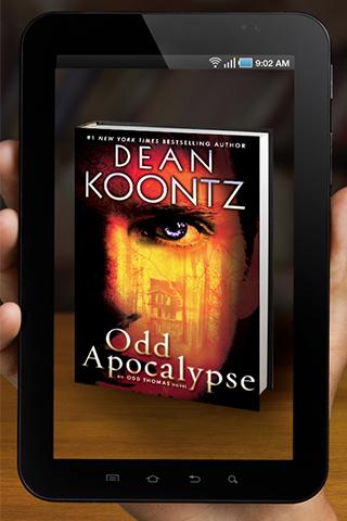 Dean Koontz AR Viewer- screenshot