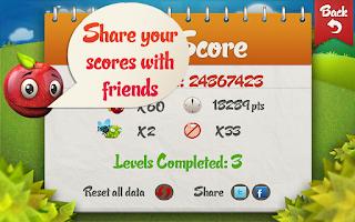Screenshot of Squishy Fruit FREE