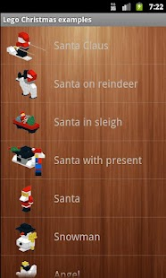Lego Christmas examples