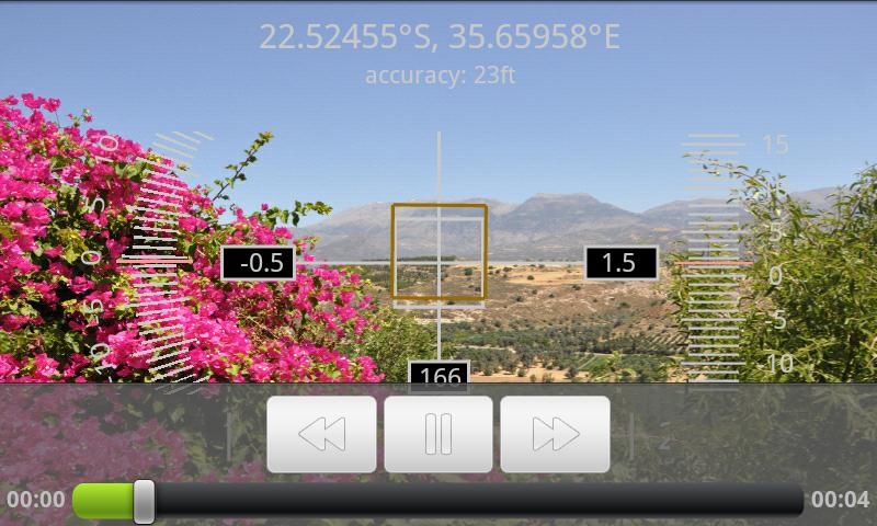 GeoCam Free - screenshot