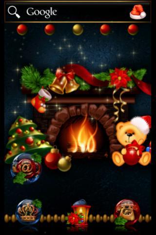 ADW Theme Christmas Vignette