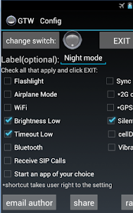 Generic Toggle Widget - screenshot thumbnail
