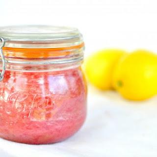 Roasted Rhubarb Jam