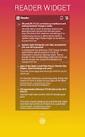 Screenshot of WiZZ Widget