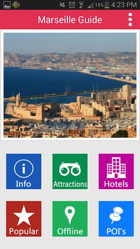 Marseille Offline Guide