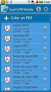 ScanToPDF Mobile Free - screenshot thumbnail
