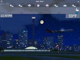 Screenshot of YoWindow Free Weather