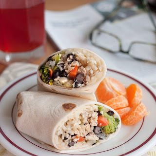 Freezer-Friendly Roasted Vegetable Burritos with Black Beans and Rice