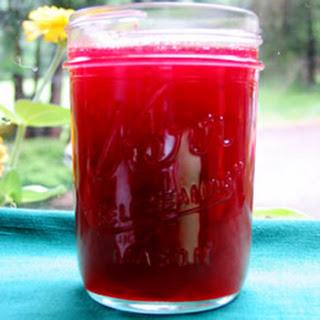 Rhubarb Cherry Jelly.