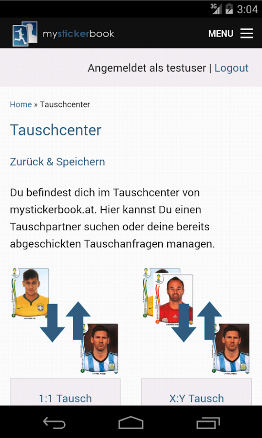 MyStickerBook – Screenshot