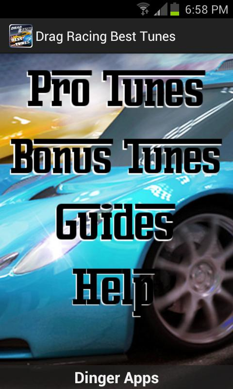 Drag Racing Best Tunes Lite - screenshot
