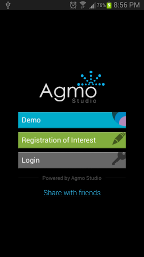 Mobile CMS Template Demo App