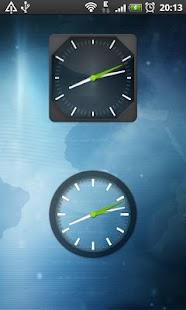 Clock Widget Pack Glass