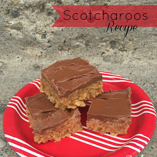 Scotcharoos Recipe – even better than Rice Krispies Treats.