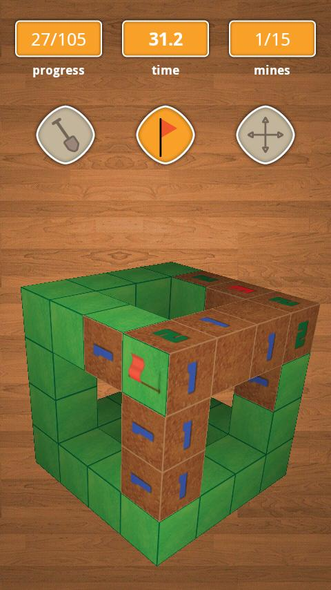 Minesweeper 3D - Premium - screenshot