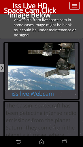 Iss Live Space Cam