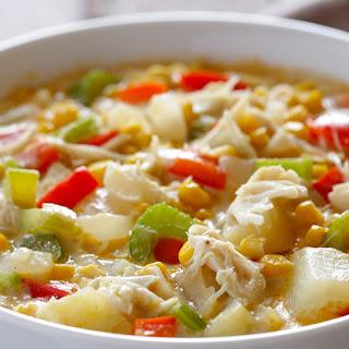 Corn and Crab Chowder.