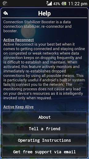 【免費工具App】Connection Stabilizer Booster-APP點子