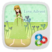 Love Advent Theme Go Launcher