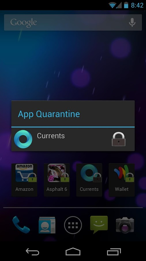 App Quarantine ROOT/FREEZE - screenshot