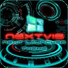 Next Launcher theme 3d free icon